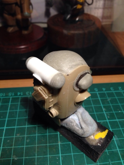 1/20 Ma.k Skinhead WIP - Rear of body with tank