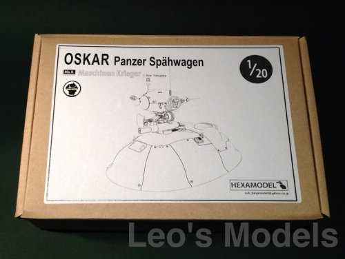 Hexamodel 1/20 Oskar - Box art