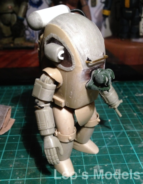 Maschinen Krieger 1/20 Skinhead WIP - front and right side
