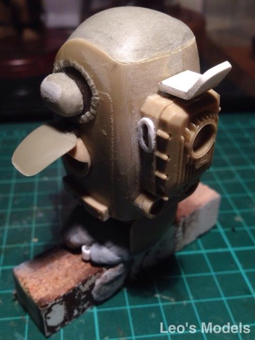 Maschinen Krieger 1/20 Skinhead WIP - rear with tank rack